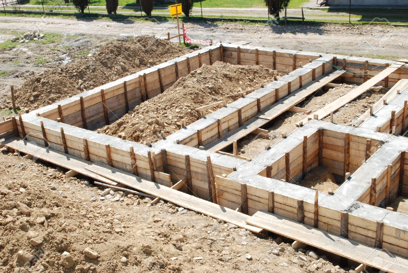 Importan a funda iei casei construc ii case la ro u ro for First step in building a house